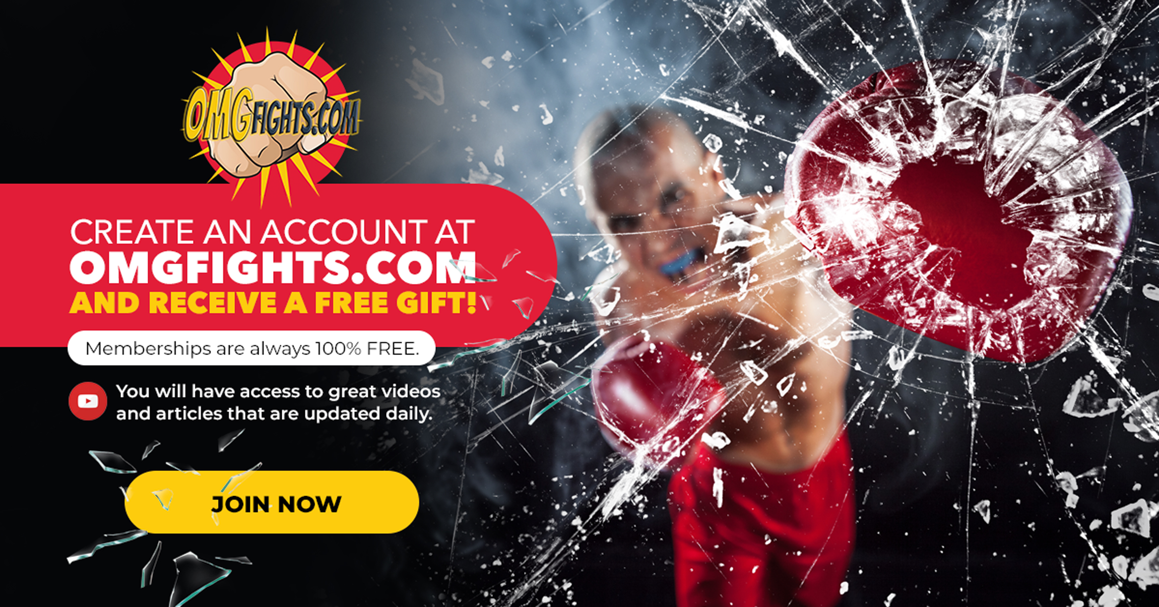 Create an account and receive a FREE GIFT!