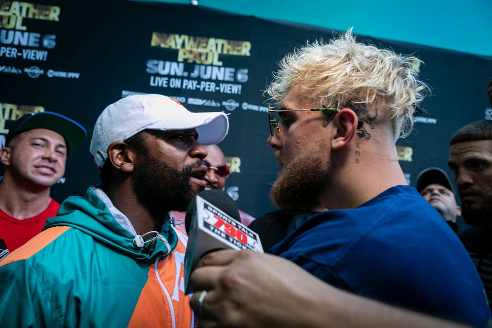 """Jake Paul: """"I want Mayweather to put up his record against me"""""""